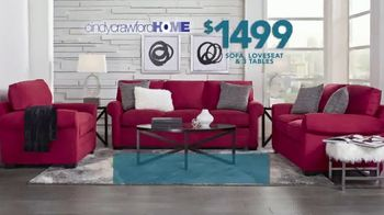 Rooms to Go TV Spot, 'Labor Day: Cindy Crawford Home Furniture Set'