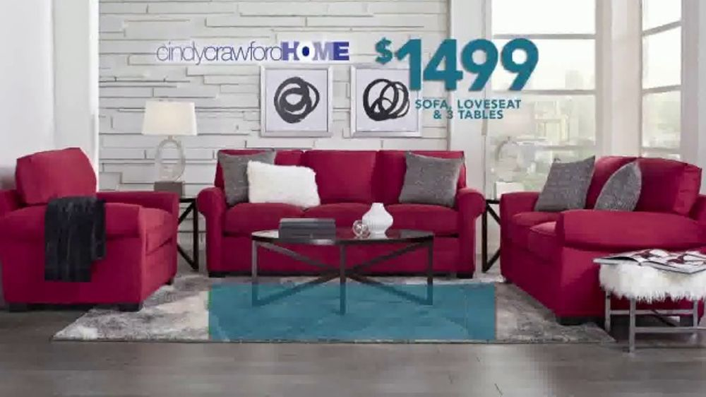 Rooms To Go Tv Commercial Labor Day Cindy Crawford Home