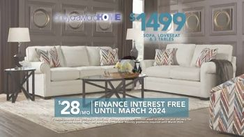 Rooms to Go TV Spot, 'Labor Day: Cindy Crawford Home Furniture Set' - Thumbnail 8