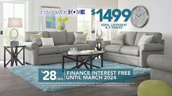 Rooms to Go TV Spot, 'Labor Day: Cindy Crawford Home Furniture Set' - Thumbnail 5