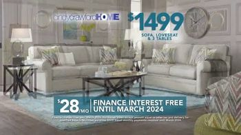 Rooms to Go TV Spot, 'Labor Day: Cindy Crawford Home Furniture Set' - Thumbnail 6