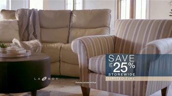 La-Z-Boy Labor Day Sale TV Spot, 'Favorite Spot' - Thumbnail 7