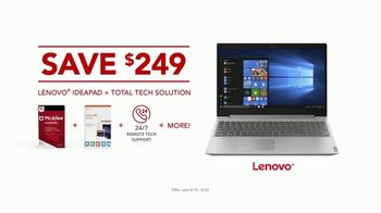 Office Depot TV Spot, 'Worry-Free: Lenovo Ideapad' - Thumbnail 6