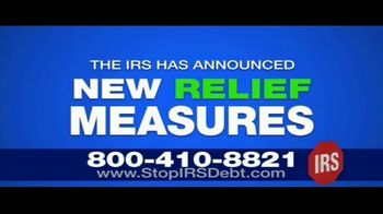 StopIRSDebt.com TV Spot, 'Update: New Relief Measures'