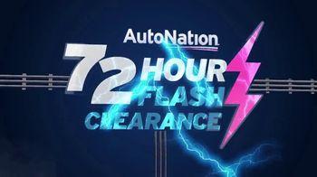 AutoNation 72 Hour Flash Clearance TV Spot, '2019 GMC Sierra and Buick Encore'