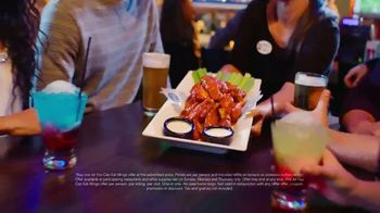 Dave and Buster's Unlimited Wings + $10 Gift Card TV Spot, 'Ready for Football' - Thumbnail 3
