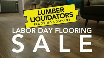 Lumber Liquidators Labor Day Flooring Sale TV Spot, 'Save up to 50 Percent'