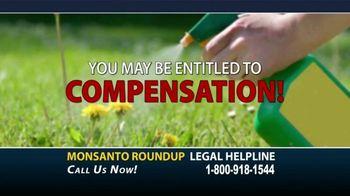 Marc Whitehead & Associates, LLP TV Spot, 'Monsanto Roundup'