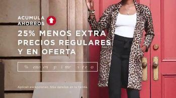 Macy's Preventa de Otoño TV Spot, 'Las mejores tendencias' [Spanish] - Thumbnail 4