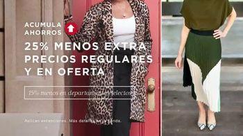 Macy's Preventa de Otoño TV Spot, 'Las mejores tendencias' [Spanish] - Thumbnail 5