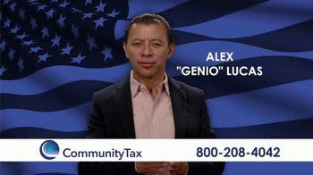 Community Tax TV Spot, 'Problemas personales' con Alex Lucas [Spanish]