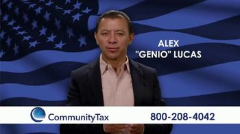 Community Tax TV Spot, 'Problemas personales' con Alex Lucas [Spanish] - 13 commercial airings