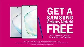 T-Mobile TV Spot, 'Samsung Note 10 BOGO' - Thumbnail 7
