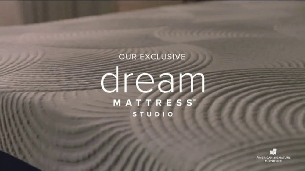 American Signature Furniture Labor Day Doorbusters TV Commercial, 'Dream Mattress Studio'