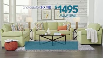 Rooms to Go TV Spot, '2019 Labor Day: Cindy Crawford Home Living Room Set' - Thumbnail 4