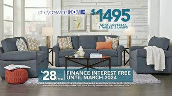 Rooms to Go TV Spot, '2019 Labor Day: Cindy Crawford Home Living Room Set' - Thumbnail 5