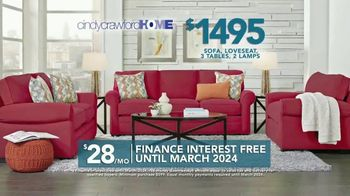 Rooms to Go TV Spot, '2019 Labor Day: Cindy Crawford Home Living Room Set' - Thumbnail 7