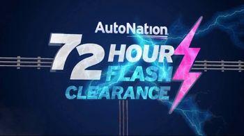 AutoNation 72 Hour Flash Clearance TV Spot, '2019 Honda Accord and CR-V'
