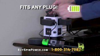 Spin Power TV Spot, 'Charge in a Flash' - Thumbnail 8