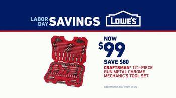 Lowe's Labor Day Savings TV Spot, 'Pass It Down: Craftsman' - Thumbnail 7