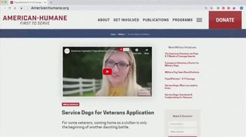 American Humane Association TV Spot, 'Pups for Patriots Program' Featuring Ice-T - Thumbnail 6