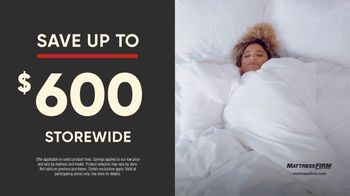 Mattress Firm Labor Day Sale TV Spot, 'King for the Price of a Queen' - Thumbnail 4