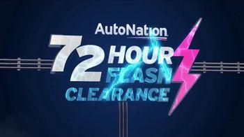 AutoNation 72 Hour Flash Clearance TV Spot, '2019 Honda Accord'