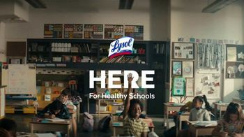 Lysol TV Spot, 'Here for Healthy Schools: aquí' [Spanish]