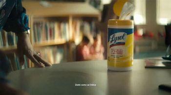 Lysol TV Spot, 'Here for Healthy Schools: aquí' [Spanish] - Thumbnail 8