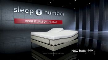 Sleep Number Biggest Sale of the Year TV Spot, '50 Percent Off and Free Delivery' - Thumbnail 1