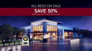 Sleep Number Biggest Sale of the Year TV Spot, '50 Percent Off and Free Delivery' - Thumbnail 8