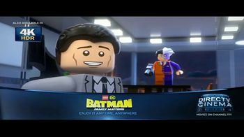 DIRECTV Cinema TV Spot, 'Lego DC Batman: Family Matters'