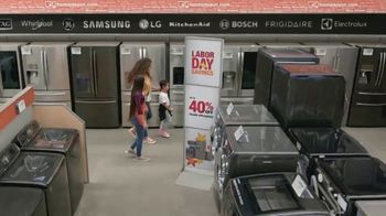 The Home Depot Labor Day Savings TV Spot, 'Upgrade Your Appliances' - Thumbnail 4