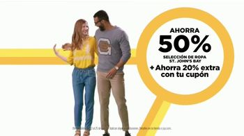 JCPenney Venta Reconecta Tus Ahorros TV Spot, 'Cuatro días' [Spanish] - Thumbnail 6