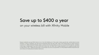 XFINITY Mobile TV Spot, 'Design Your Own Data: Samsung Note10 or Note10+' - Thumbnail 6