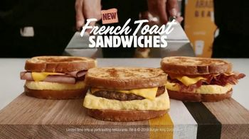 Burger King French Toast Sandwiches TV Spot, 'Sweet or Savory' - Thumbnail 10