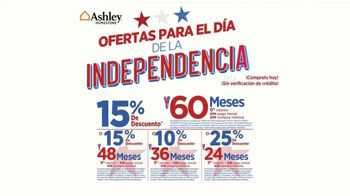 Ashley HomeStore Ofertas para el Día de la Independencia TV Spot, 'Comedor' [Spanish] - Thumbnail 4