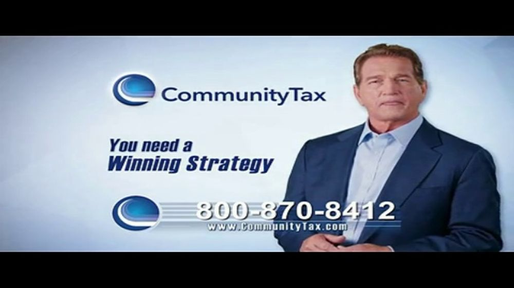 Community Tax TV Commercial, 'Taxes With Penalties' Featuring Joe Theismann