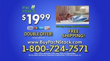 Pac N Stack Tv Commercial Half The Space Ispot Tv