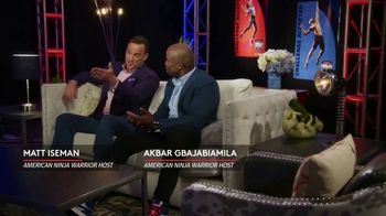 XFINITY xFi TV Spot, 'NBC: American Ninja Warrior' Featuring Matt Iseman, Akbar Gbaja-Biamila - Thumbnail 2