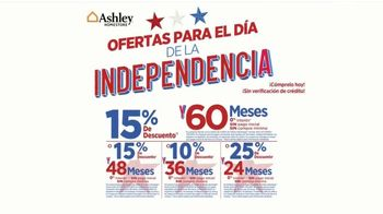 Ashley HomeStore Ofertas para el Día de la Independencia TV Spot, 'Cama Demarlos' [Spanish] - Thumbnail 4