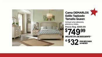 Ashley HomeStore Ofertas para el Día de la Independencia TV Spot, 'Cama Demarlos' [Spanish] - Thumbnail 5