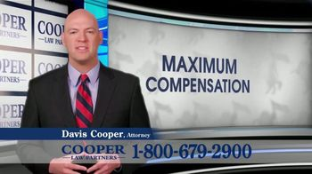 Cooper Law Partners TV Spot, 'We Won't Rest' - Thumbnail 2