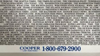Cooper Law Partners TV Spot, 'We Won't Rest' - Thumbnail 4