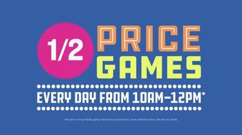 Dave and Buster's TV Spot, 'Half Price Games: All Summer From 10 to Noon' - Thumbnail 6