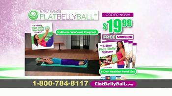 Flat Belly Ball TV Spot, 'Bloated Belly' Featuring Maria Kang - Thumbnail 10