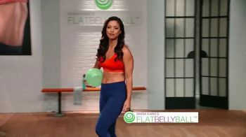 Flat Belly Ball TV Spot, 'Bloated Belly' Featuring Maria Kang - Thumbnail 2