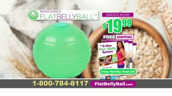 Flat Belly Ball TV Spot, 'Bloated Belly' Featuring Maria Kang - Thumbnail 9