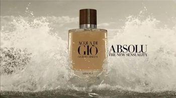 Giorgio Armani Acqua Di Giò Absolu TV Spot, 'Sensuality' Song by Night Shapers - Thumbnail 6