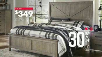 Ashley HomeStore Stars & Stripes Event TV Spot, 'Queen Bed' Song by Midnight Riot - Thumbnail 5